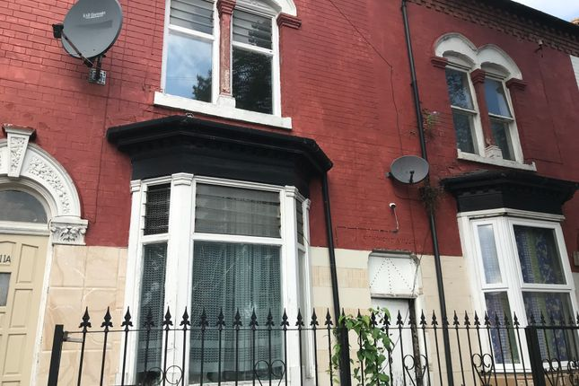 Thumbnail Terraced house to rent in Linwood Road Handsworth, Birmingham
