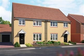 Thumbnail Detached house for sale in The Juniper, Cloverfields, Didcot, Oxfordshire