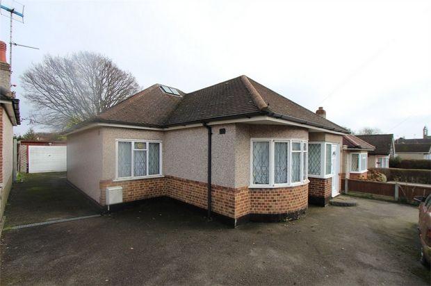 Thumbnail Detached bungalow for sale in 5 Links Way, Benfleet, Essex