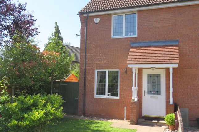 Thumbnail End terrace house for sale in Duncombe Drive, Strensall, York