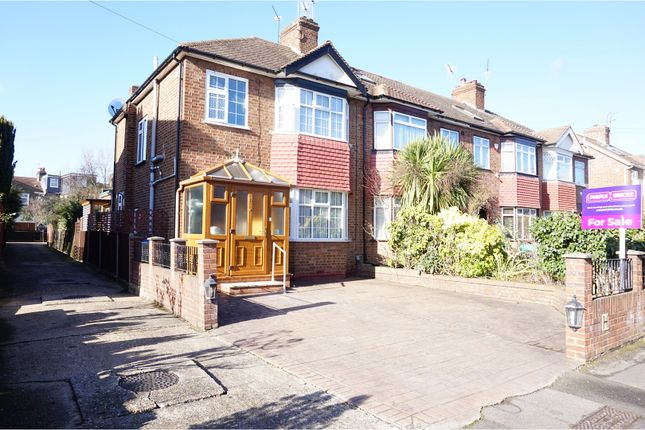 Thumbnail End terrace house for sale in Weardale Gardens, Enfield