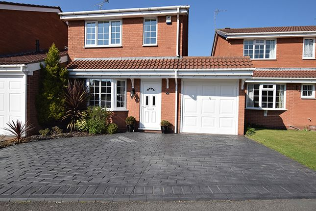 Thumbnail Detached house for sale in St. Mawes Road, Perton, Wolverhampton, Staffordshire