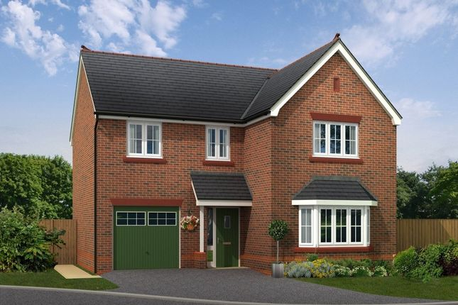 "Thumbnail Detached house for sale in ""Bordesley"" at Boundary Park, Parkgate, Neston"