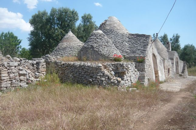 External of Trullo Julie, San Michele Salentino, Puglia, Italy