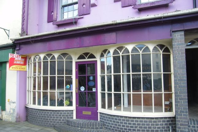 Commercial property for sale in High Street, Lampeter, Ceredigion