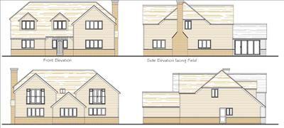 Thumbnail Land for sale in Land Adjoining Paddock Rise, Canterbury Road, Challock, Ashford, Kent