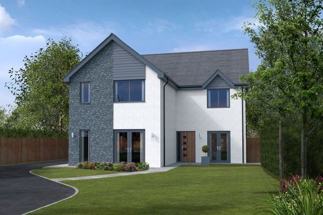 Thumbnail Detached house for sale in Plot 1, Heol Las, Maudlam, Bridgend