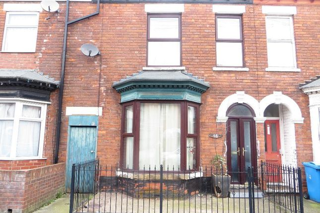 Thumbnail Terraced house for sale in Blenheim Street, Hull