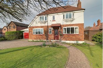 Thumbnail Detached house for sale in The Croft, Middlewich Road, Sandbach