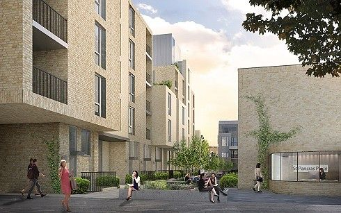 Thumbnail Flat for sale in St. Pancras Place, Gray's Inn Road