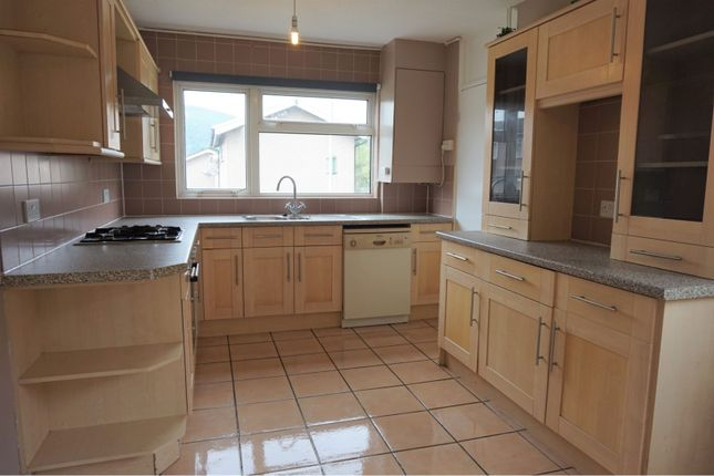 Thumbnail End terrace house to rent in North View, Taff's Well