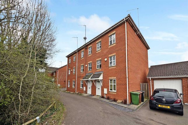 Thumbnail Terraced house to rent in Soane Close, Wellingborough, Northants