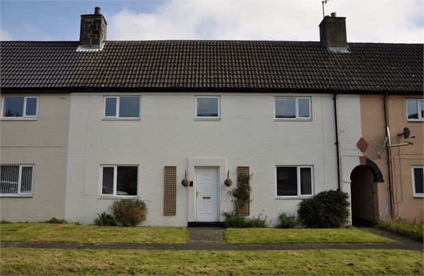 Thumbnail Terraced house for sale in South Green, Byrness Village, Newcastle Upon Tyne.