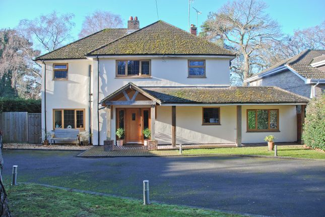Thumbnail Detached house for sale in Hinton Wood Avenue, Highcliffe, Christchurch