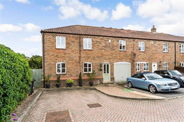 Thumbnail End terrace house for sale in East View Court, Goldsborough, North Yorkshire