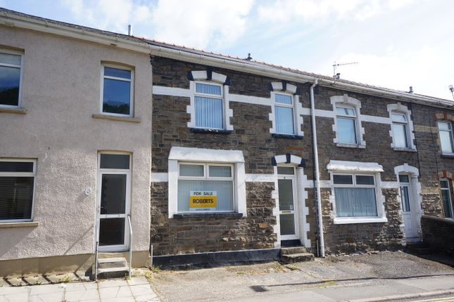 Thumbnail Terraced house for sale in High Street, Cross Keys, Newport