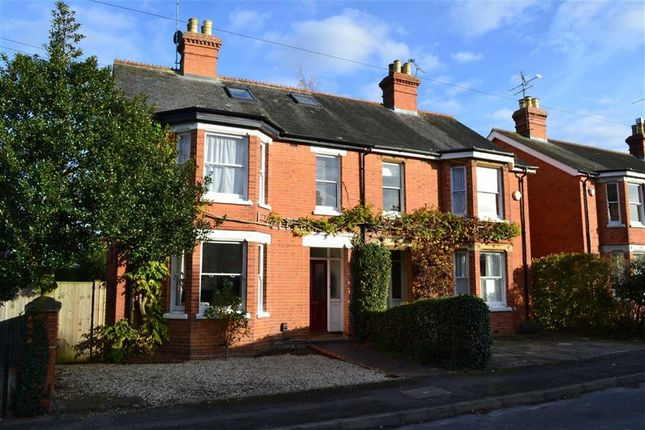 Thumbnail Semi-detached house for sale in Chesterfield Road, Newbury, Berkshire