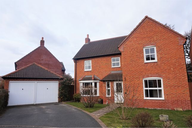 Thumbnail Detached house for sale in Windmill Meadow, Wem
