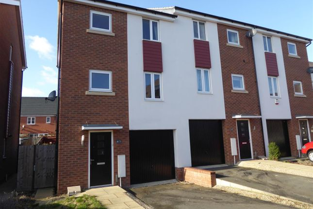 Thumbnail End terrace house to rent in Lares Avenue, Cardea, Peterborough