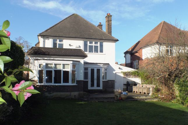 Thumbnail Detached house to rent in Manor Drive, Hinchley Wood