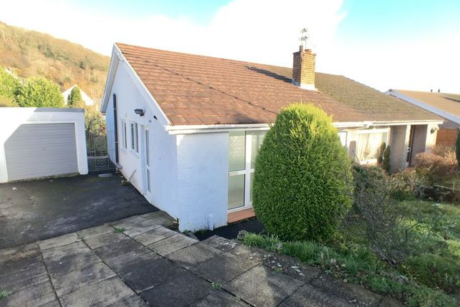 Thumbnail Semi-detached bungalow for sale in The Mews, Church Street, Llantrisant, Pontyclun
