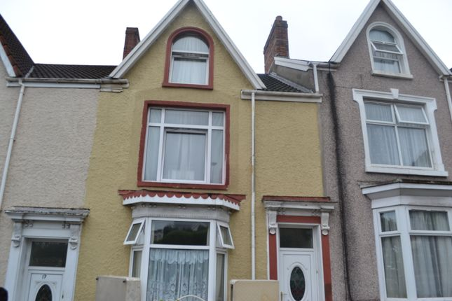 Thumbnail Terraced house to rent in Glanmor Road, Uplands, Swansea