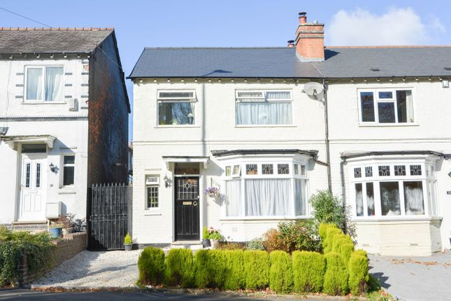 Thumbnail Semi-detached house for sale in Lightwoods Hill, Bearwood