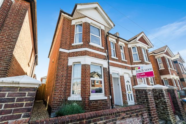Thumbnail Semi-detached house for sale in Newcombe Road, Polygon, Southampton