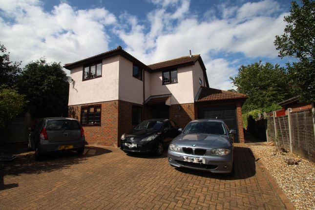 Thumbnail Detached house for sale in Albany Road, West Bergholt, Colchester