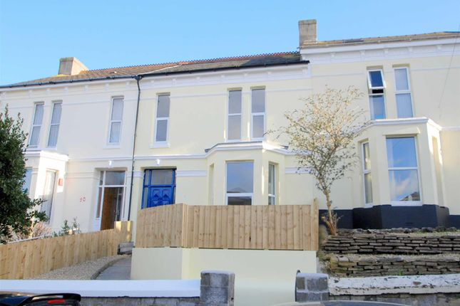Thumbnail Flat to rent in Furzehill Road, Mutley, Plymouth