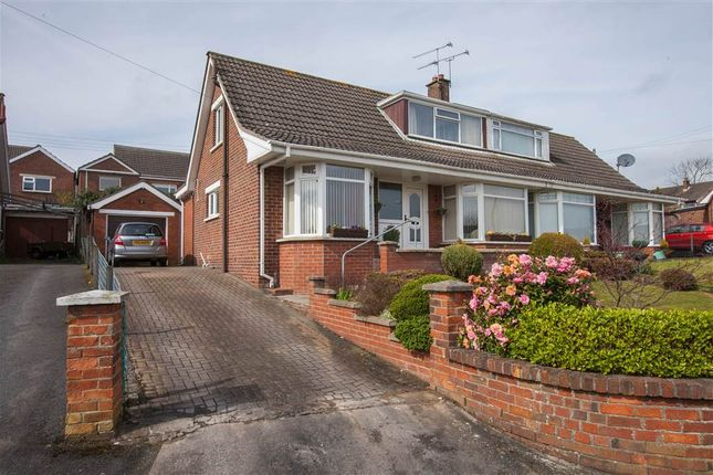 Thumbnail Semi-detached bungalow for sale in 8, Innisfayle Crescent, Bangor