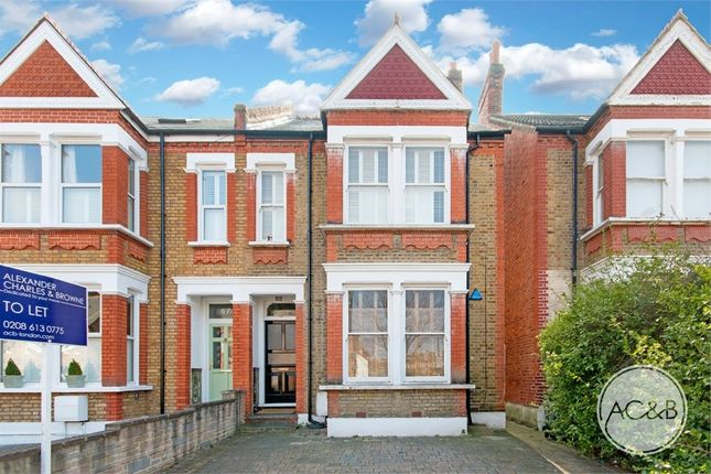 Thumbnail Flat to rent in Woolstone Road, London