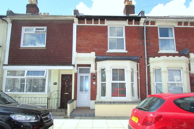 Thumbnail Terraced house to rent in Vernon Road, Portsmouth