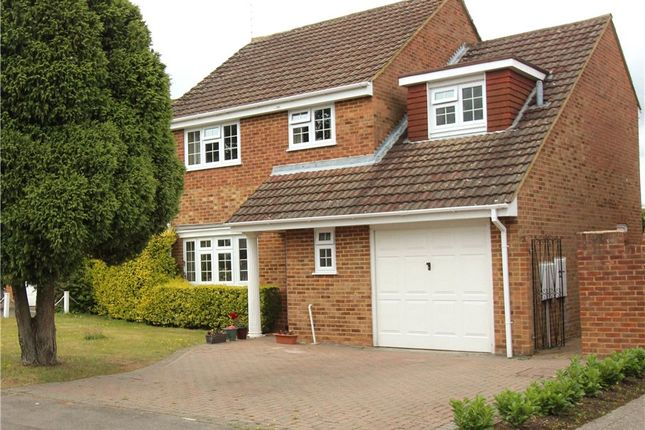 Thumbnail Detached house for sale in Hardy Avenue, Yateley, Hampshire