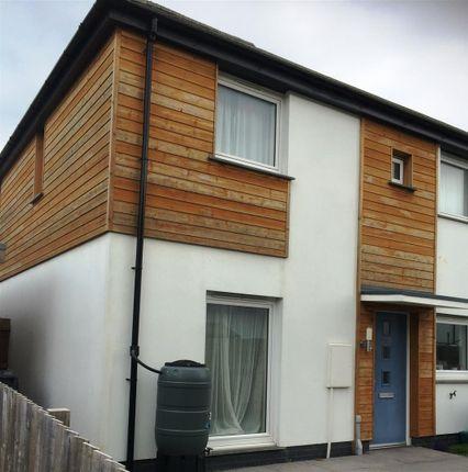 Thumbnail Semi-detached house to rent in Pill Gardens, Braunton
