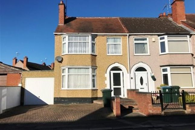 Thumbnail Terraced house to rent in Paxton Road, Coundon, Coventry