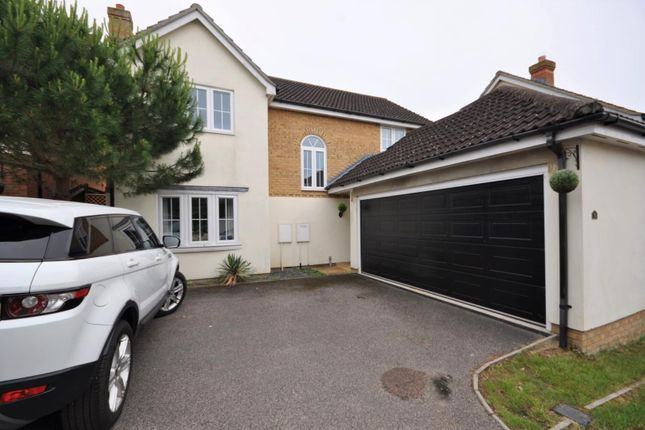 Thumbnail Detached house to rent in Woodcutters Close, Hornchurch