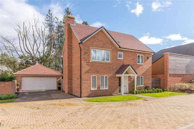 Thumbnail Detached house for sale in Woodland Grove, St. Mary Park, Morpeth, Northumberland