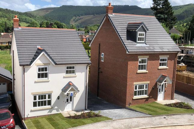 Thumbnail Detached house for sale in Plot 21, Maes Helyg, Vicarage Road, Llangollen