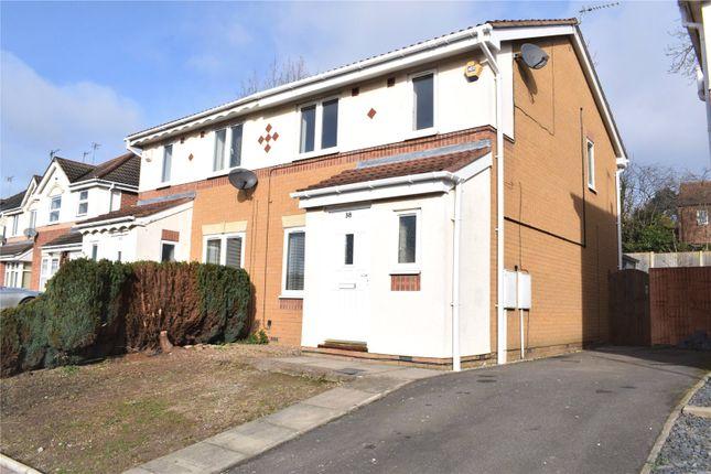 Thumbnail Semi-detached house to rent in Malthouse Road, Ilkeston, Derbyshire