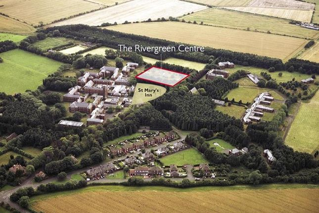 Aerial_Photoa of The Rivergreen Centre, Stannington, St Mary's Lane, St Mary's Park, Morpeth, Northumberland NE61