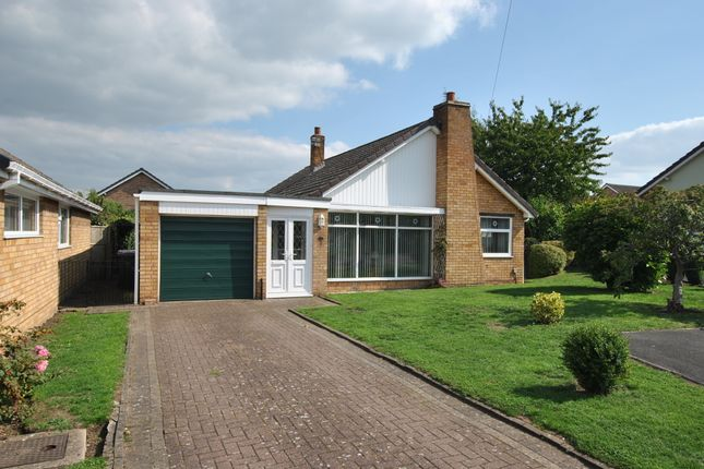 Thumbnail Detached bungalow for sale in Wrekin Close, Trench, Telford, Shropshire