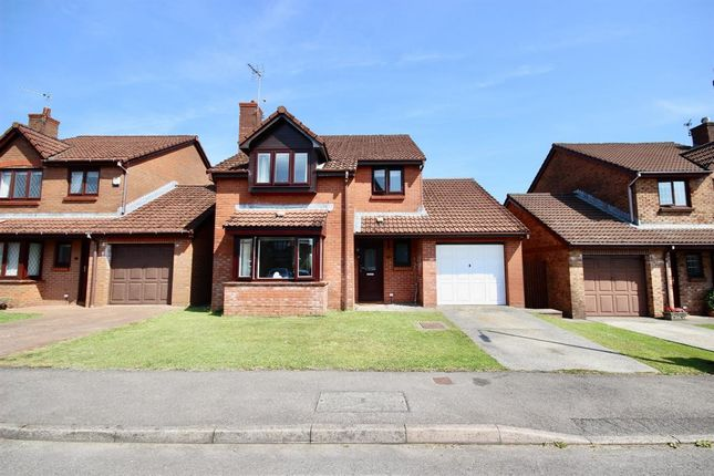 Thumbnail Detached house for sale in Prior's Gate, Oakdale, Blackwood