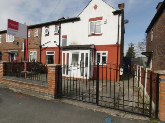 Thumbnail End terrace house for sale in Ayres Road, Manchester, Greater Manchester