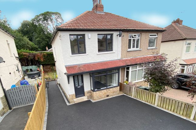 Thumbnail Semi-detached house for sale in Netherhall Road, Baildon