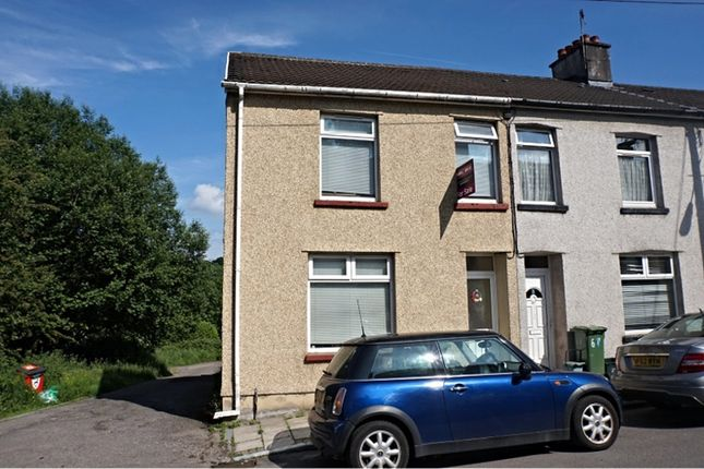 Thumbnail End terrace house for sale in Raglan Road, Hengoed