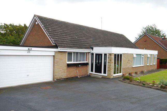 Thumbnail Detached bungalow for sale in Meadow Court, Ponteland, Newcastle Upon Tyne