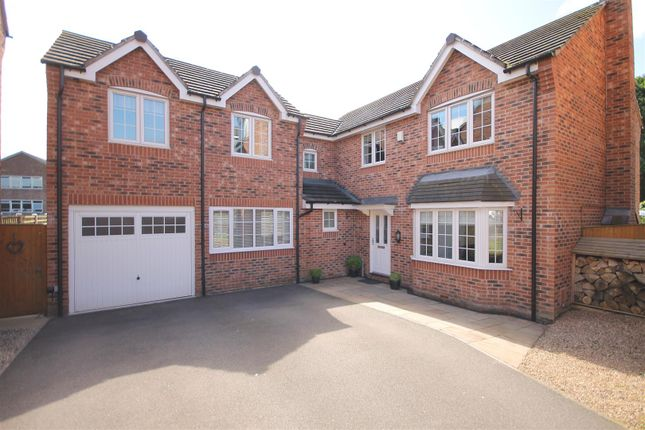 Thumbnail Detached house for sale in Old Pheasant Court, Brookside, Chesterfield