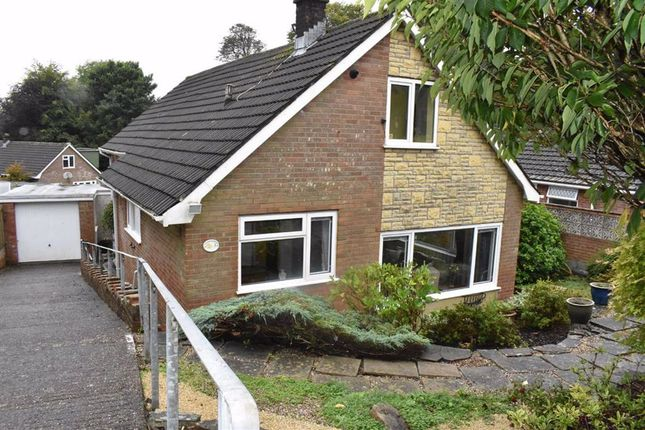 Thumbnail Detached bungalow for sale in The Beeches Close, Sketty, Swansea