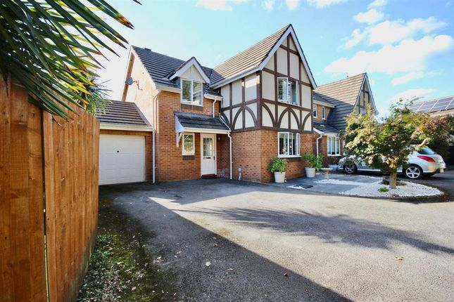 Thumbnail Detached house to rent in Campanula Drive, Rogerstone, Newport